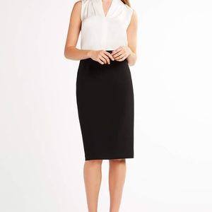 Elie Tahari - Harla black pencil skirt